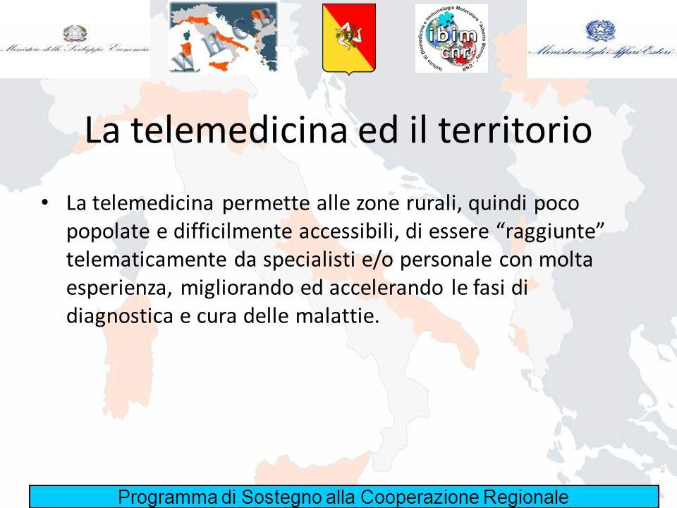 La telemedicina ed il territorio