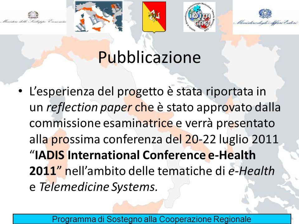 Pubblicazione
