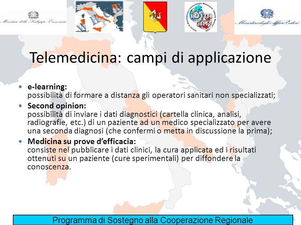 Telemedicina: campi di applicazione