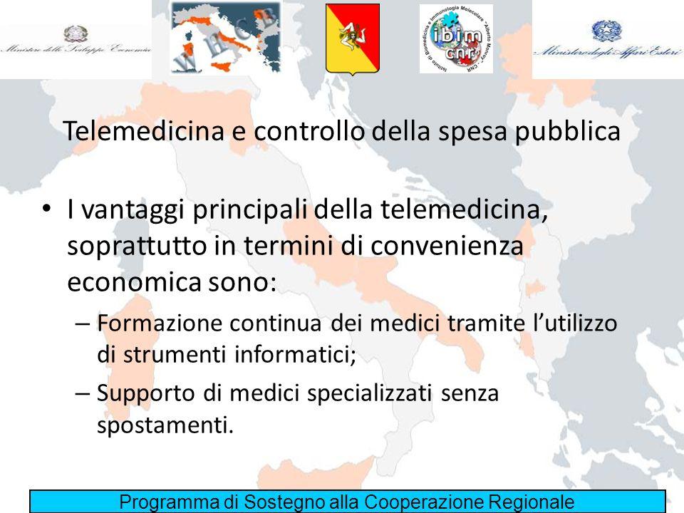 Telemedicina e controllo della spesa pubblica
