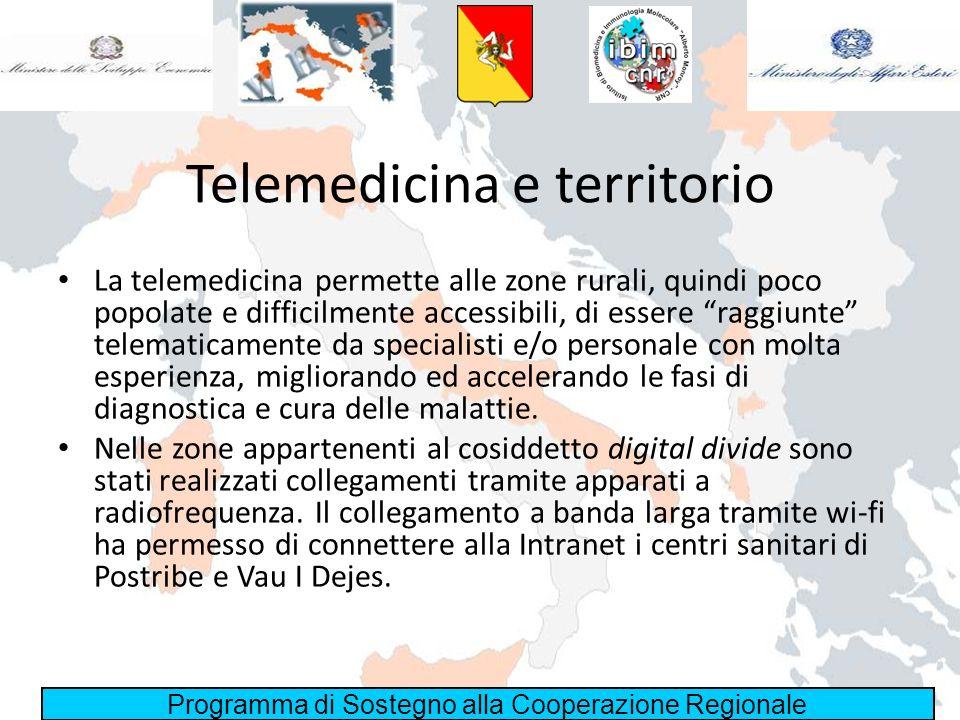 Telemedicina e territorio