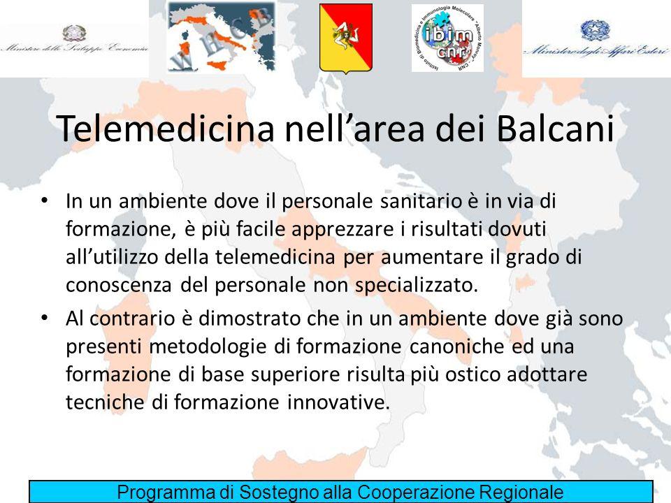 Telemedicina nell'area dei Balcani
