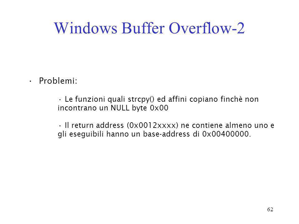 Windows Buffer Overflow-2