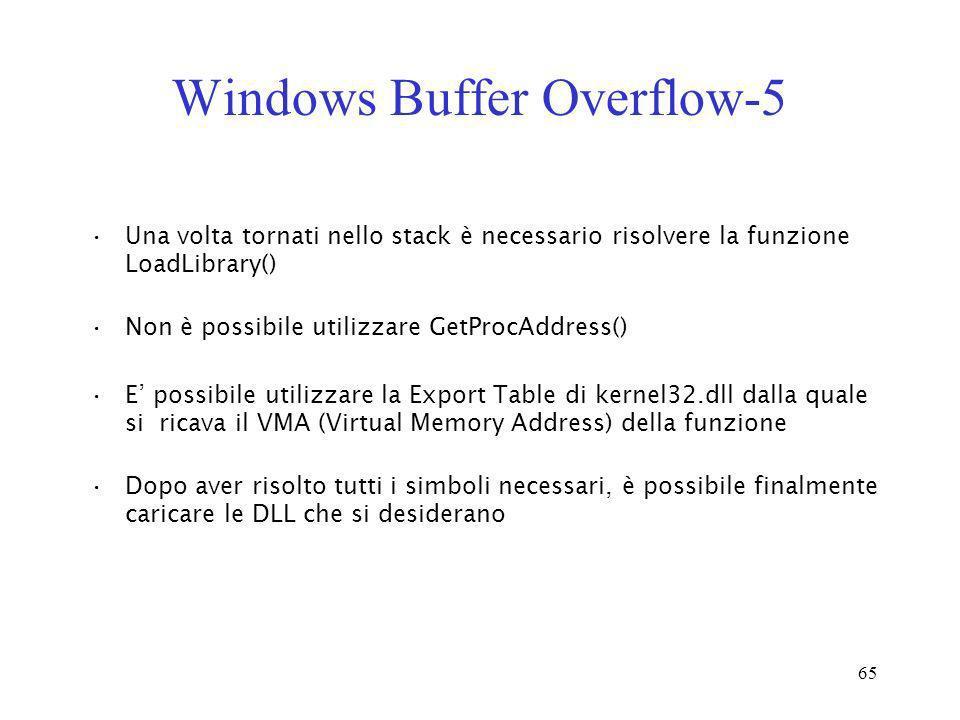 Windows Buffer Overflow-5