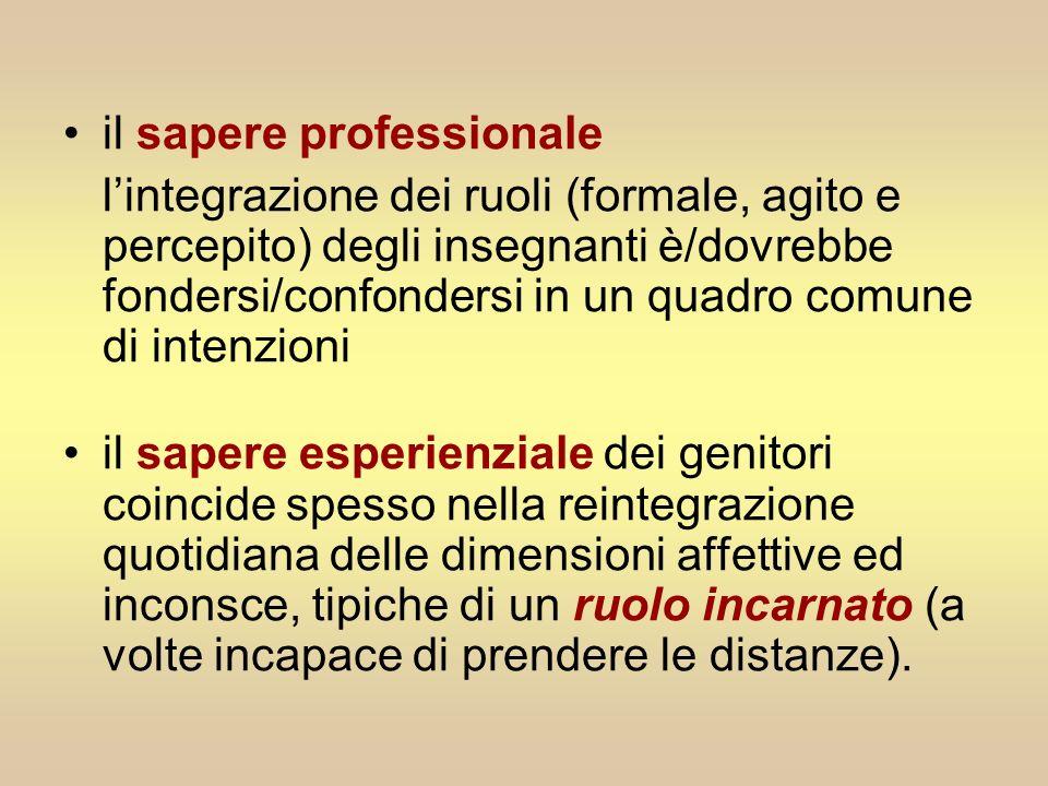il sapere professionale