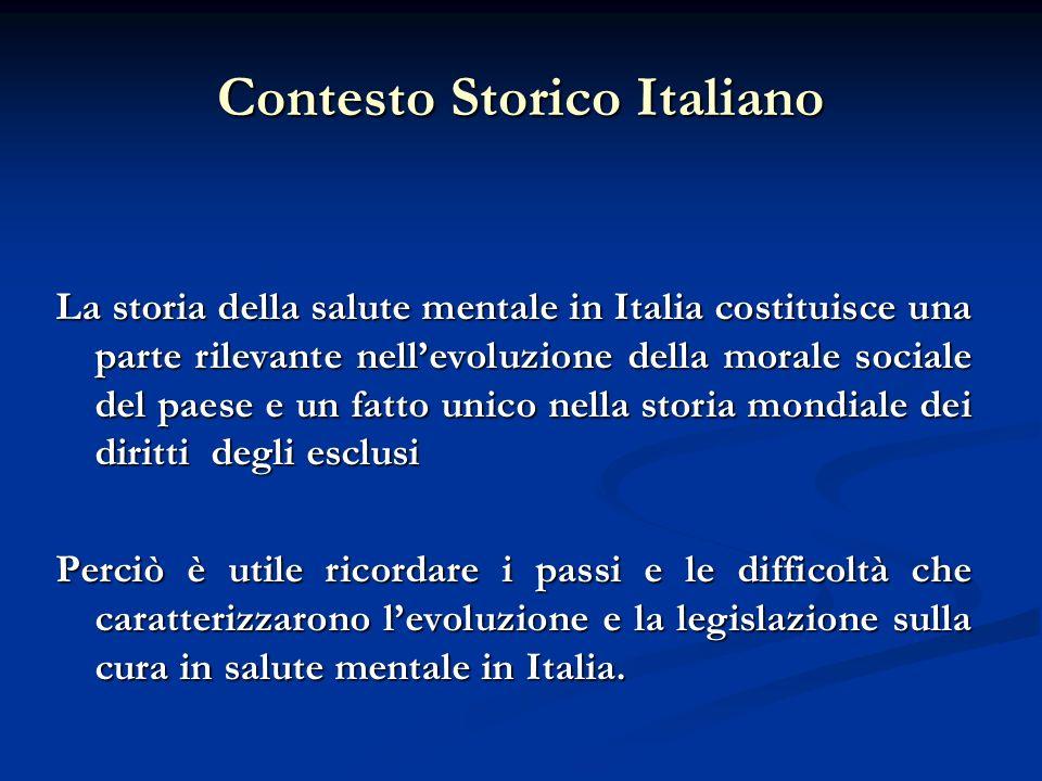 Contesto Storico Italiano
