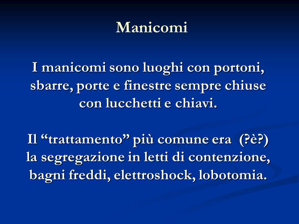 Manicomi