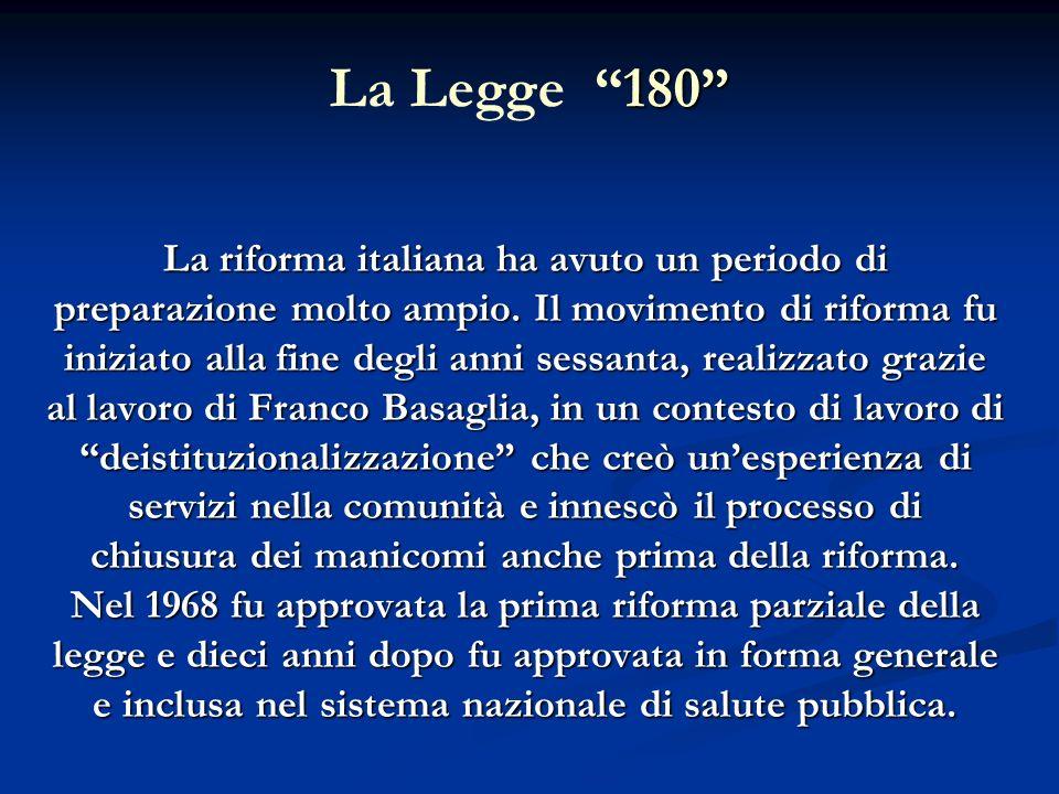 La Legge 180