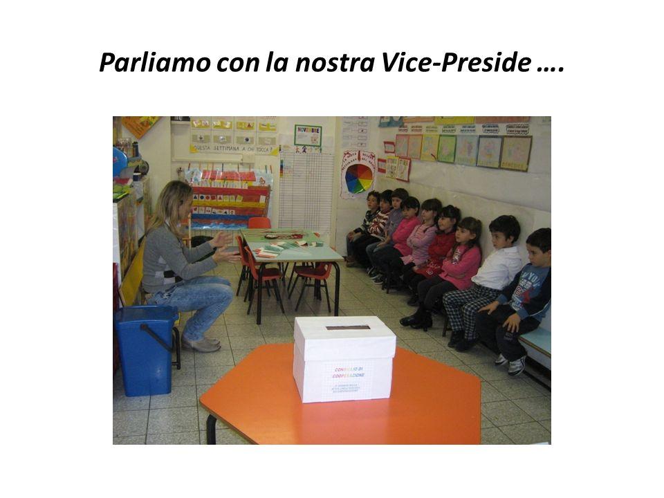 Parliamo con la nostra Vice-Preside ….