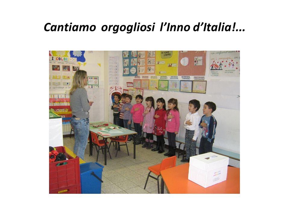 Cantiamo orgogliosi l'Inno d'Italia!...