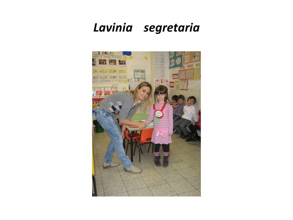 Lavinia segretaria
