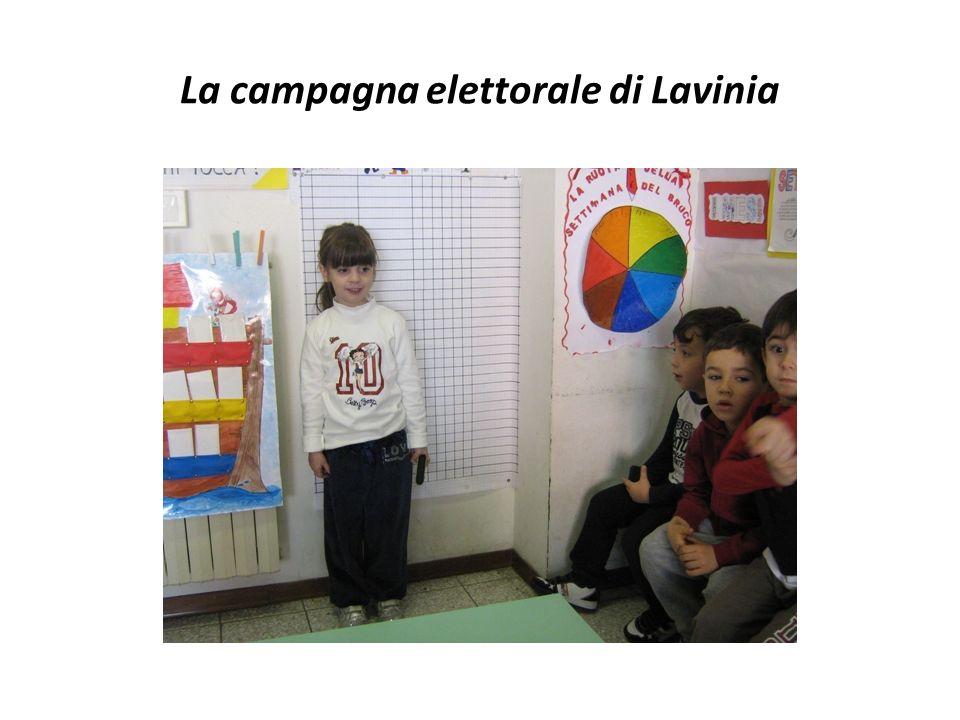 La campagna elettorale di Lavinia