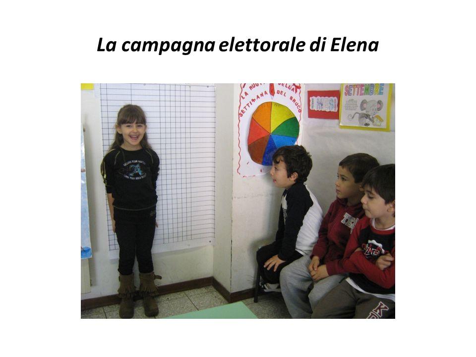 La campagna elettorale di Elena