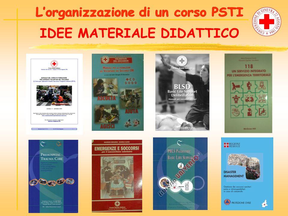 L'organizzazione di un corso PSTI IDEE MATERIALE DIDATTICO