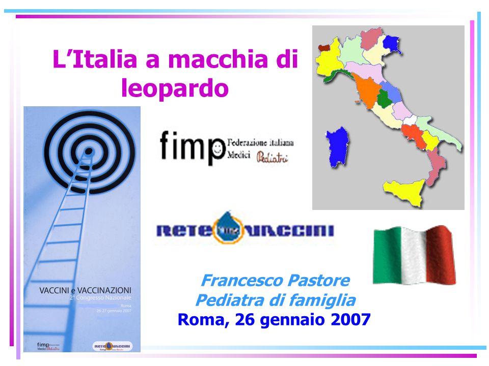 L'Italia a macchia di leopardo
