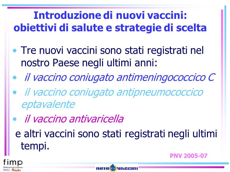 il vaccino coniugato antimeningococcico C