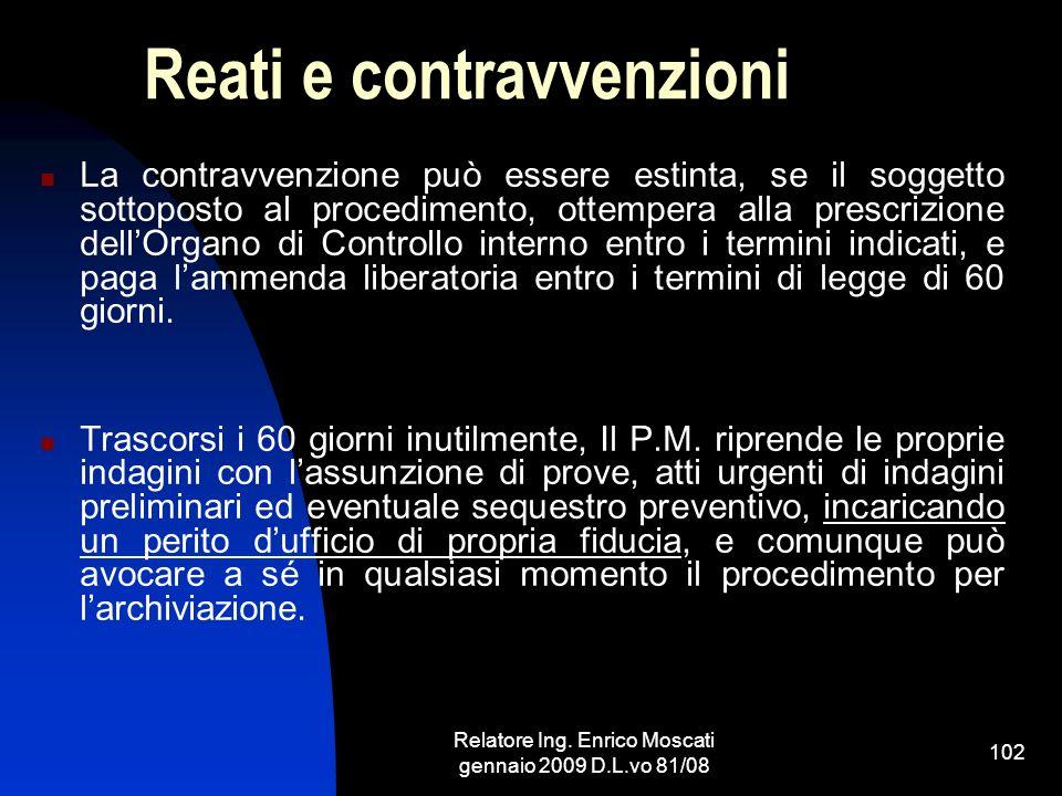 Reati e contravvenzioni