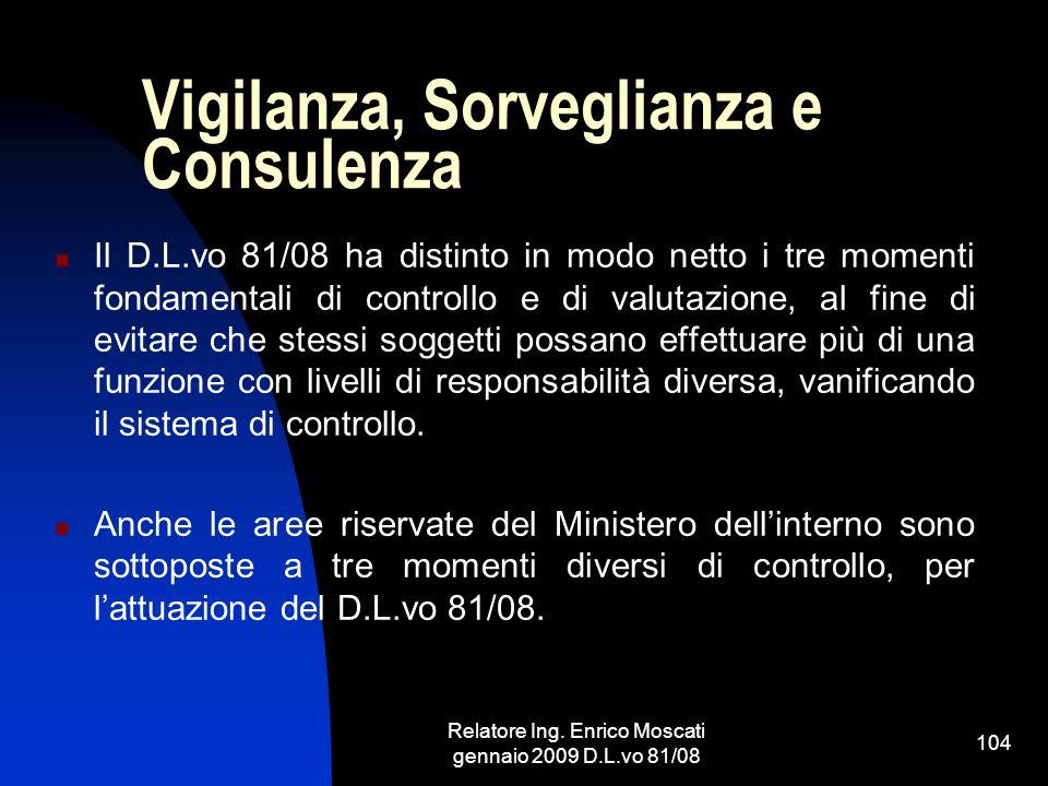 Vigilanza, Sorveglianza e Consulenza