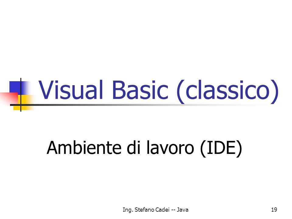 Visual Basic (classico)