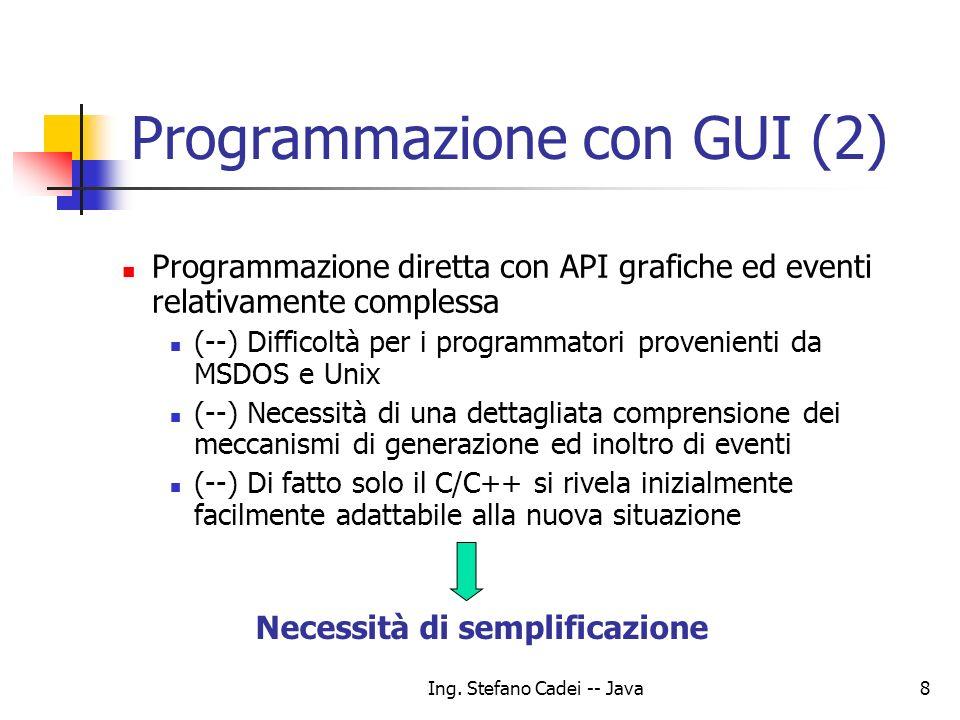 Programmazione con GUI (2)