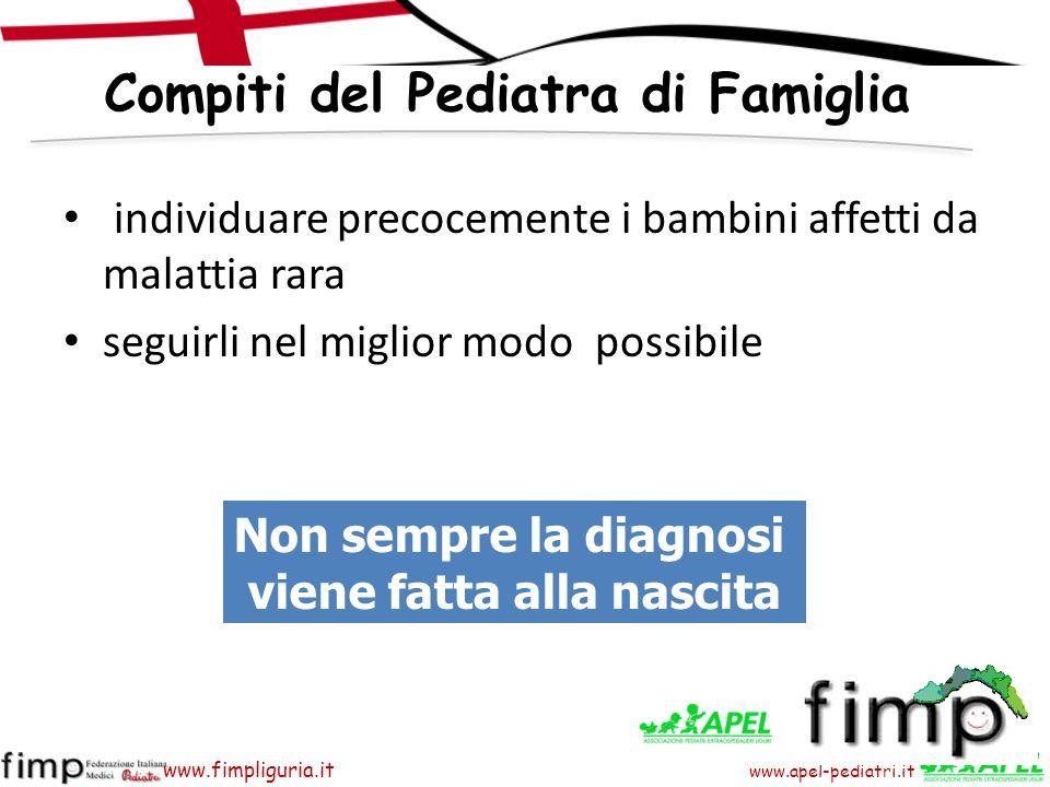 Compiti del Pediatra di Famiglia viene fatta alla nascita