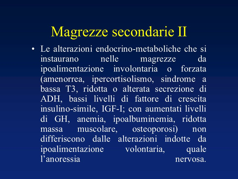 Magrezze secondarie II