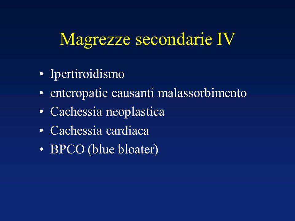 Magrezze secondarie IV