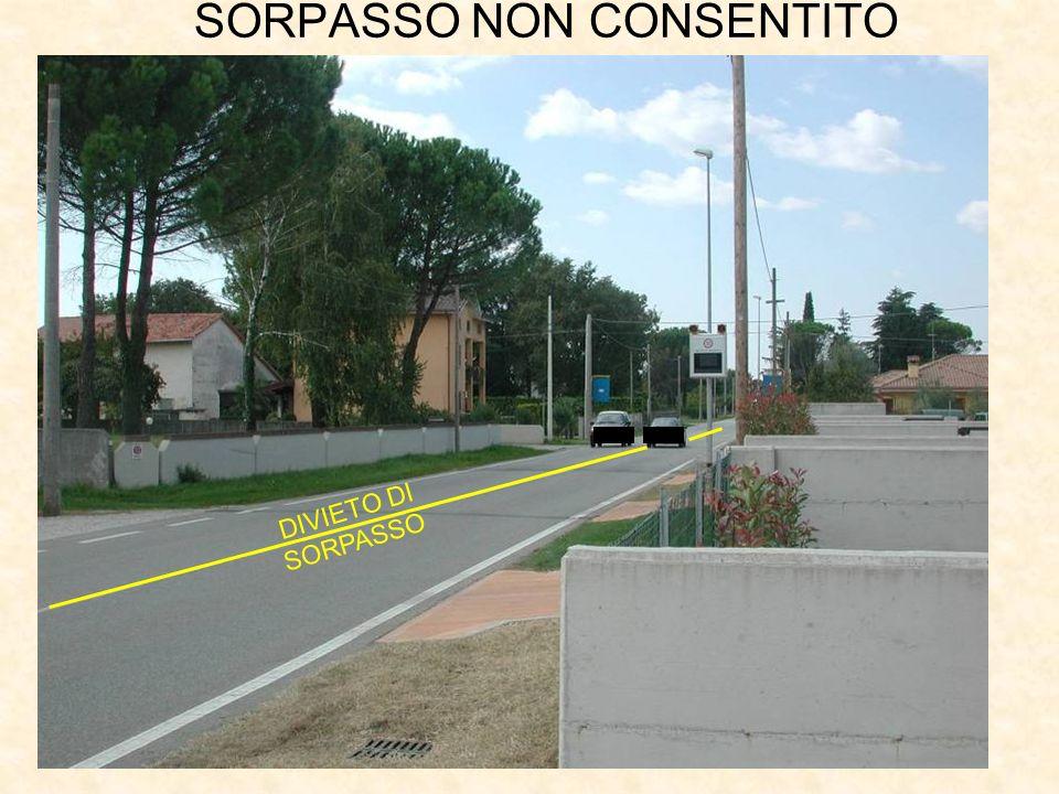 SORPASSO NON CONSENTITO