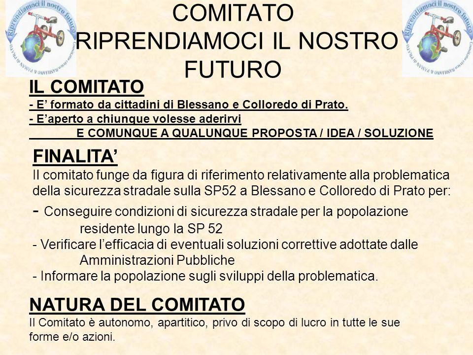 COMITATO RIPRENDIAMOCI IL NOSTRO FUTURO