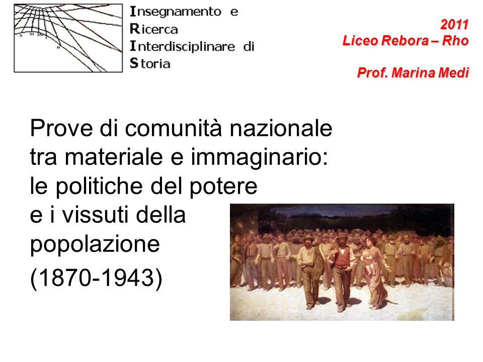 2011 Liceo Rebora – Rho. Prof. Marina Medi.