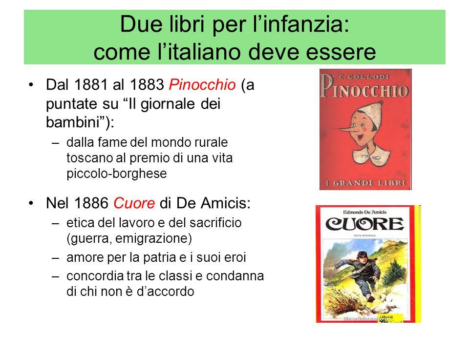 Due libri per l'infanzia: come l'italiano deve essere