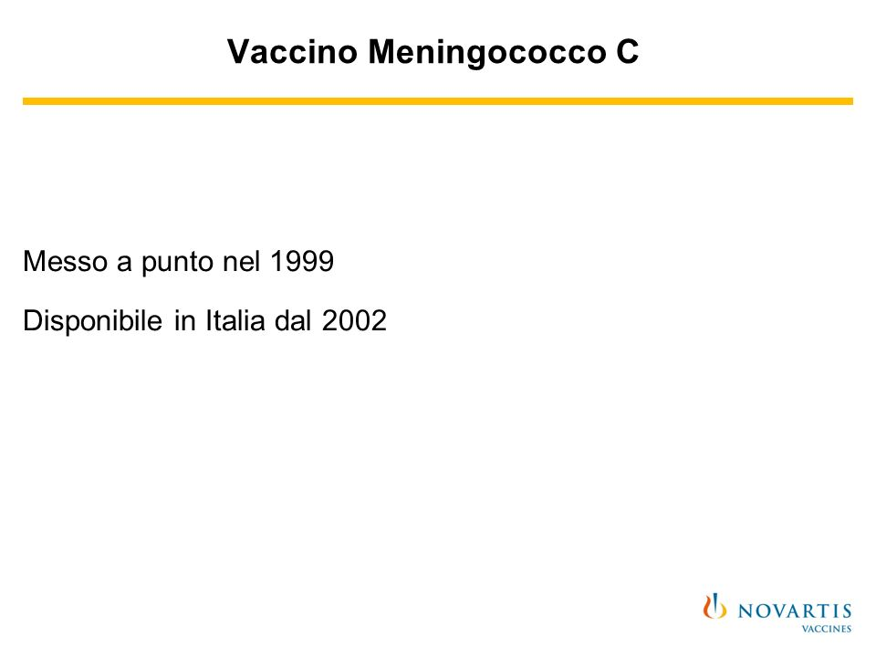 Vaccino Meningococco C