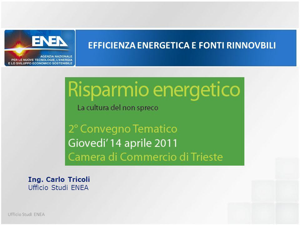 EFFICIENZA ENERGETICA E FONTI RINNOVBILI