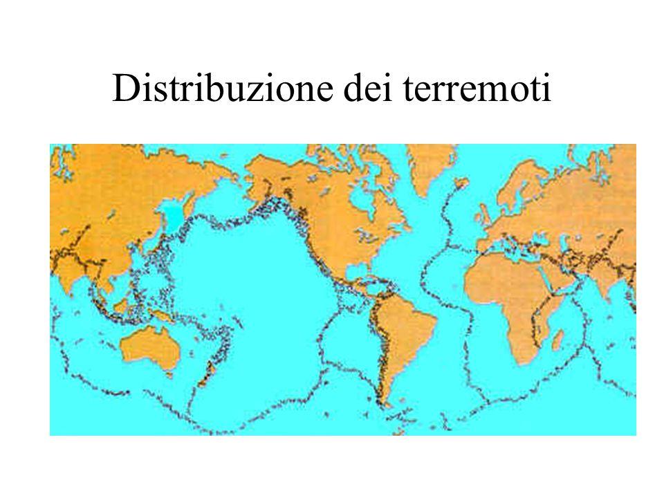 Distribuzione dei terremoti