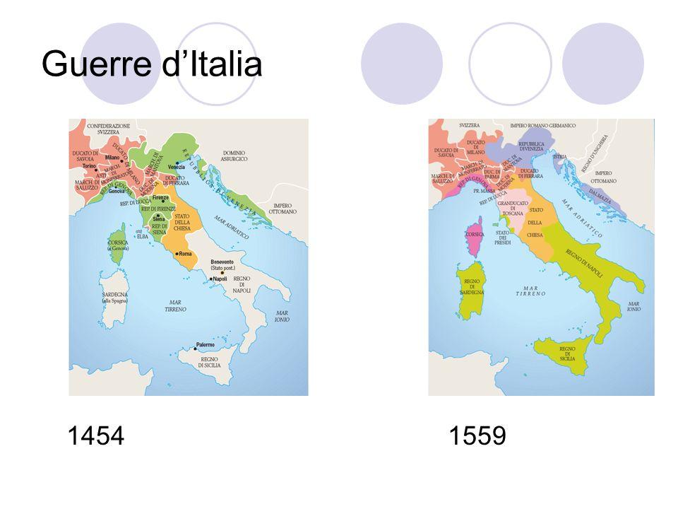 Guerre d'Italia 1454 1559