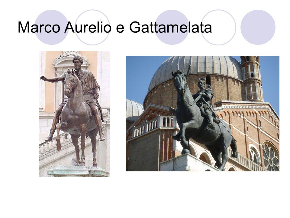 Marco Aurelio e Gattamelata