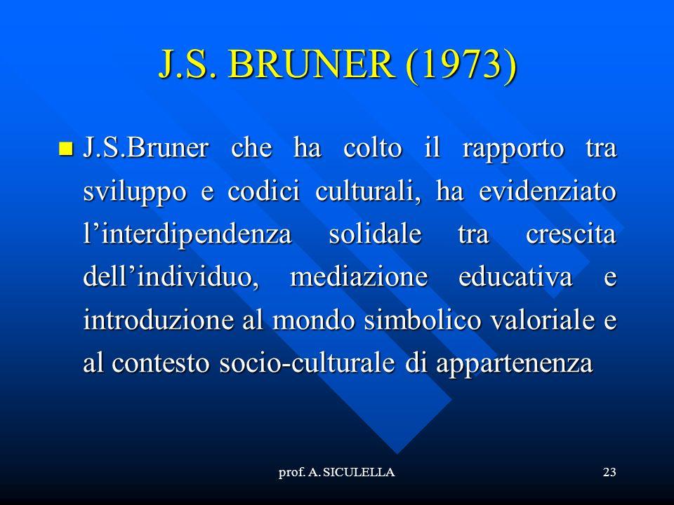 J.S. BRUNER (1973)