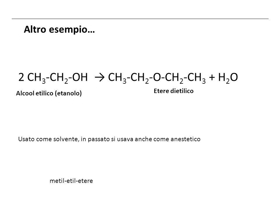 2 CH3-CH2-OH → CH3-CH2-O-CH2-CH3 + H2O