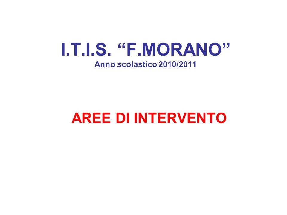 I.T.I.S. F.MORANO Anno scolastico 2010/2011