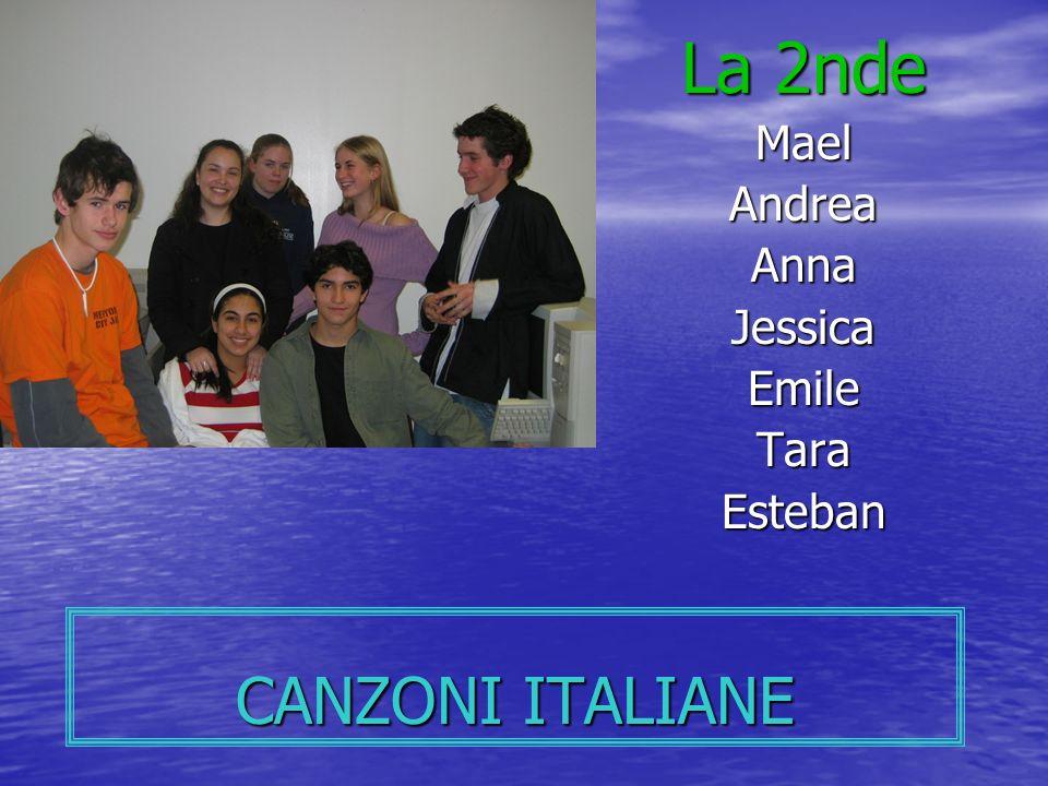 La 2nde Mael Andrea Anna Jessica Emile Tara Esteban