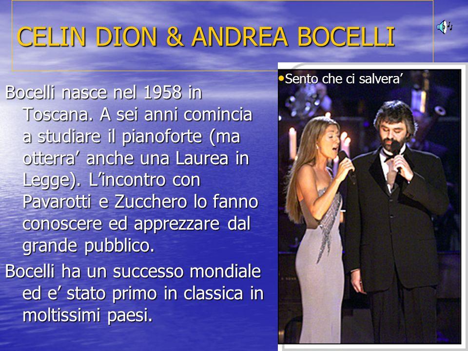CELIN DION & ANDREA BOCELLI