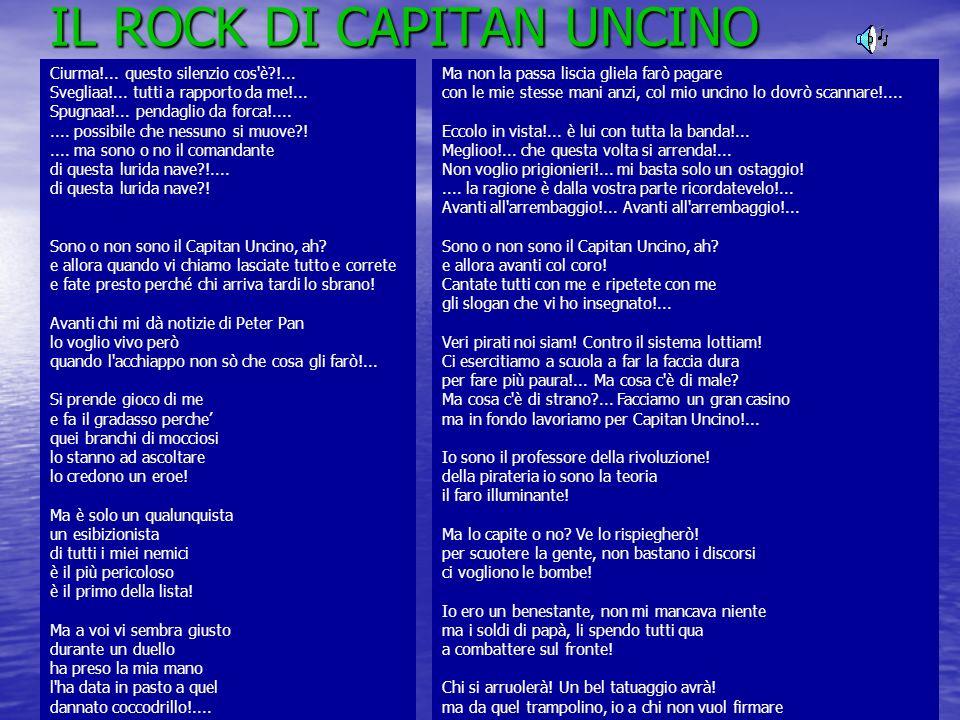 IL ROCK DI CAPITAN UNCINO