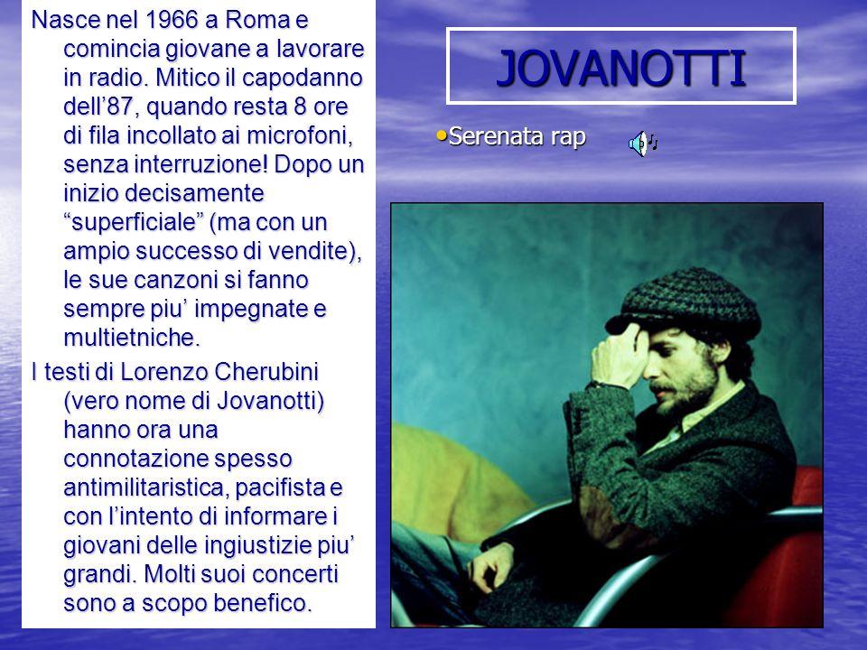 Nasce nel 1966 a Roma e comincia giovane a lavorare in radio
