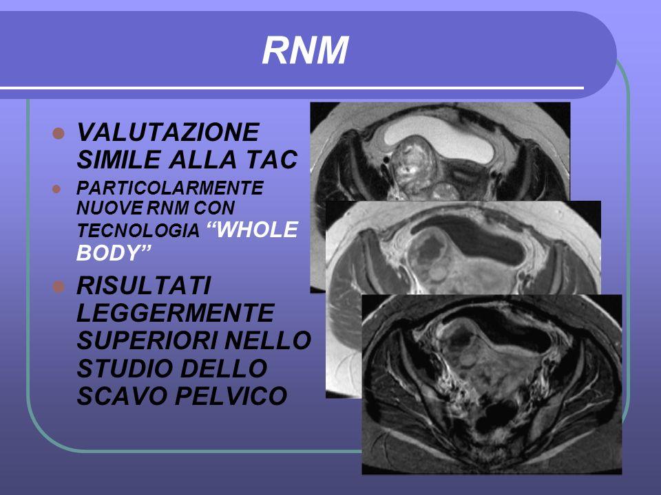 RNM VALUTAZIONE SIMILE ALLA TAC
