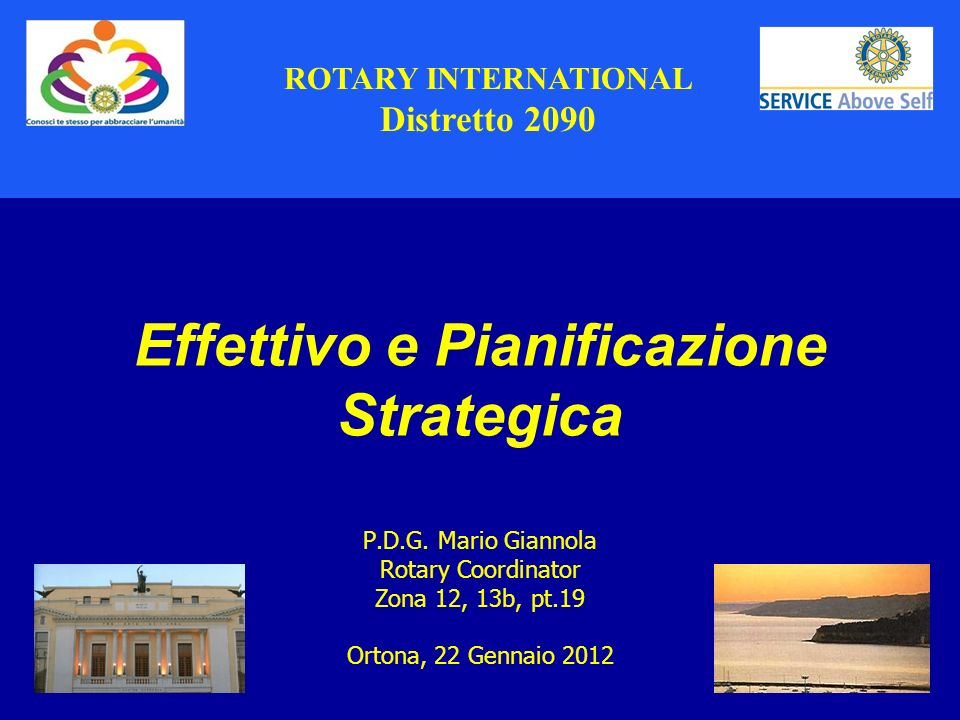 Distretto 2090 ROTARY INTERNATIONAL