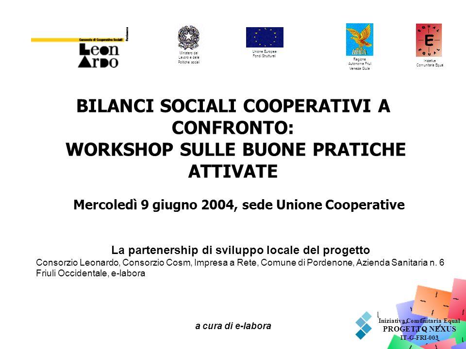 Mercoledì 9 giugno 2004, sede Unione Cooperative
