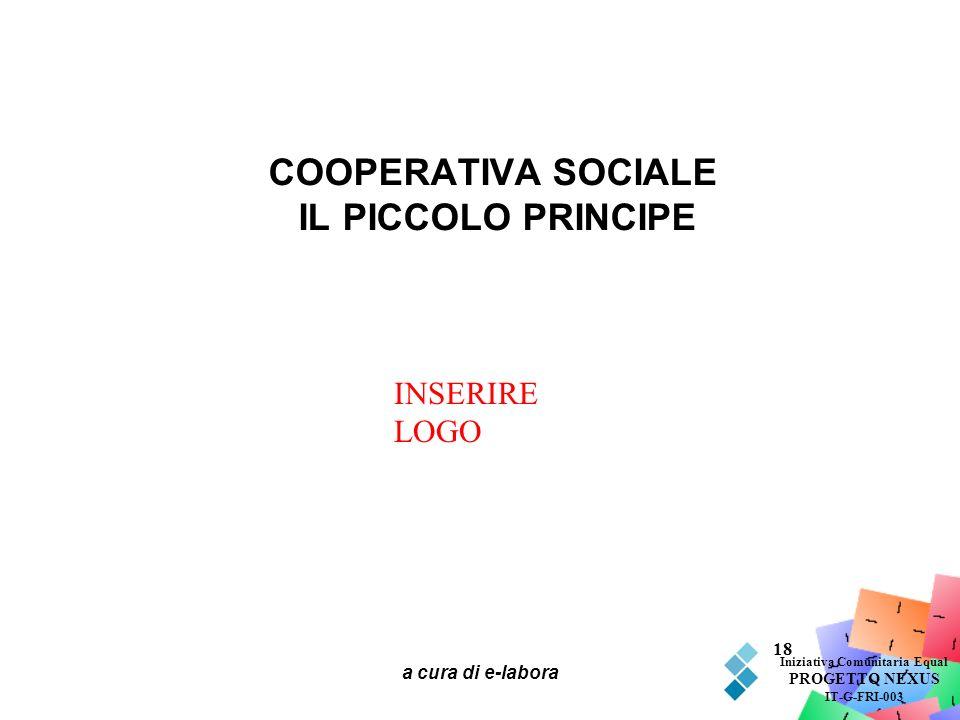 COOPERATIVA SOCIALE IL PICCOLO PRINCIPE