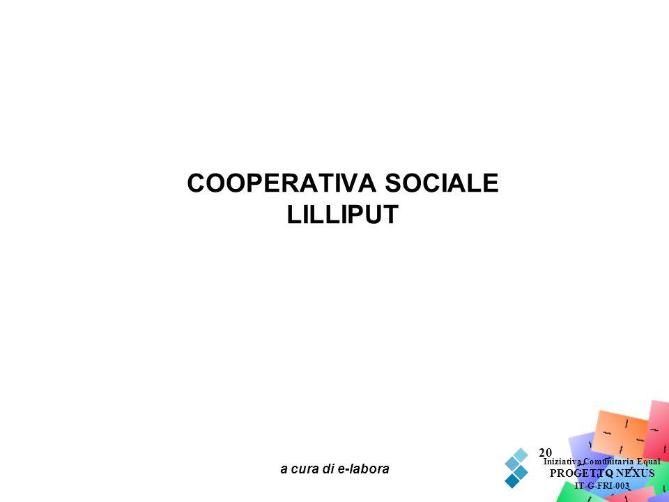 COOPERATIVA SOCIALE LILLIPUT