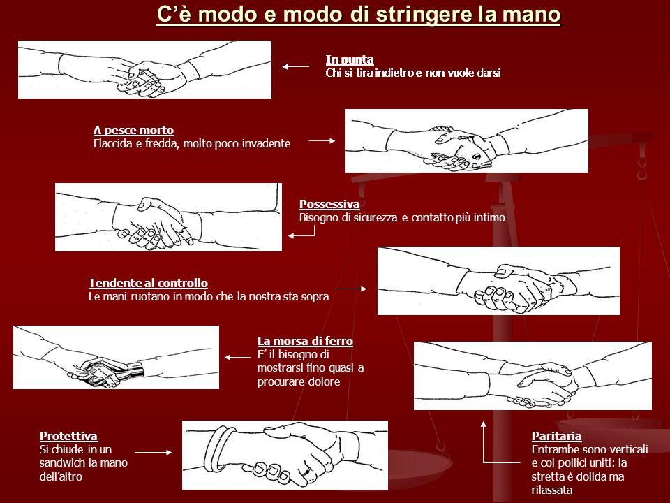 C'è modo e modo di stringere la mano