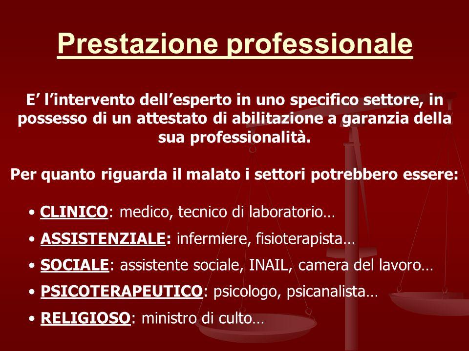 Prestazione professionale